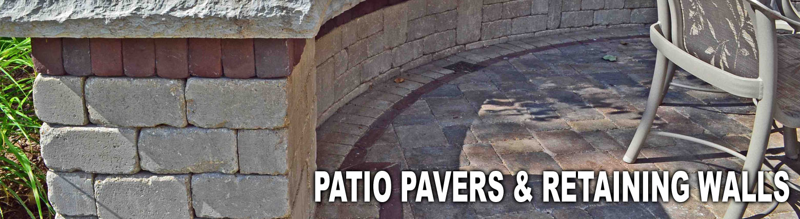 Patio Pavers and Retaining Walls