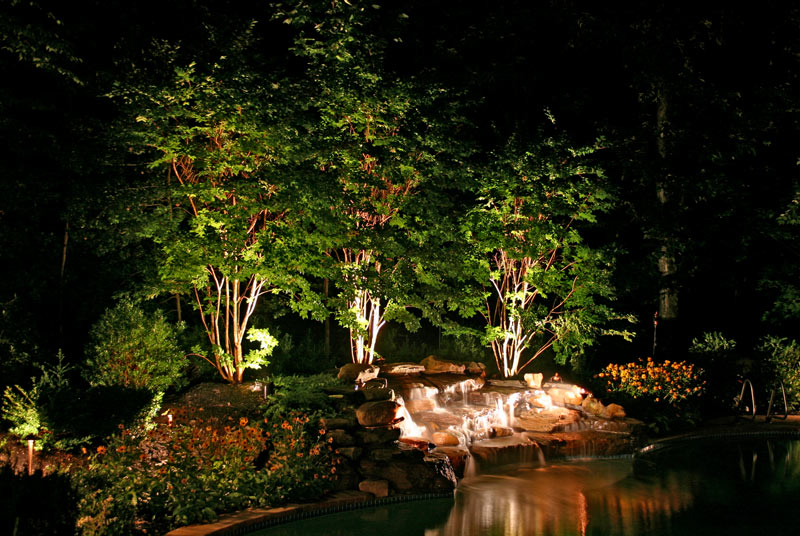 Myrtle Beach Outdoor Lighting Design and Installation & Outdoor Lighting Systems u2013 Landscaping Service Myrtle Beach u2013 North ...