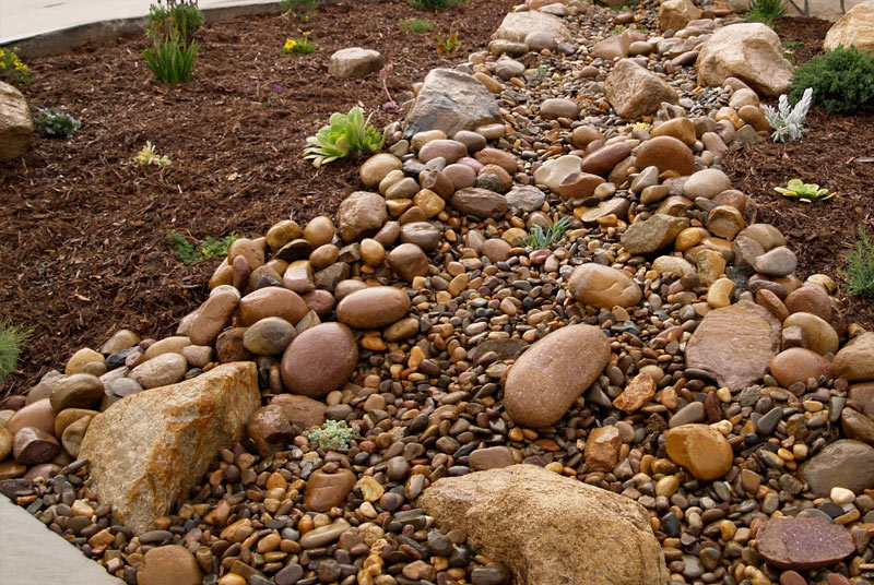 Myrtle Beach Mulch & Rock Installation